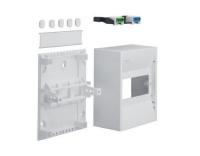 Miniverteiler, gamma, 6PLE, IP30,1xPE, 1xN