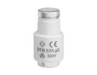 Sicherung DIII E33 63A gG 500V
