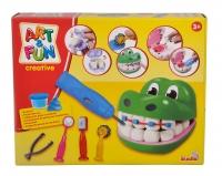 A&F Knetset Krokodil Zahnarzt