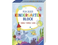Kinderbuch Mein dicker Kindergartenblock