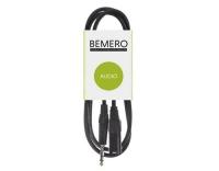 Bemero XLRm - 6.3 Klinken Kabel 0.75m
