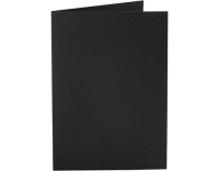 Creativ Company Karten 220 g/m2 schwarz