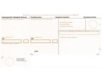Rechnungsformular mit Einzahlungsschein A4