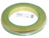 T-Draht 1.5mm2, gelb/grün, 100m