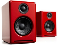 Audioengine A2+ Wireless Paar, Rot