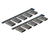 Delock Steckerverbinder USB 2.0 Type-C