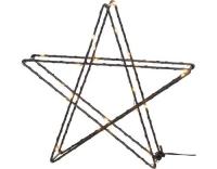 Star Trading LED Stern Super Schwarz 25cm