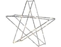 Star Trading LED Stern Super Silber 25cm