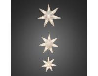 Konstsmide LED Sternenvorhang 3er Set