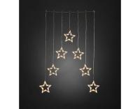 Konstsmide LED Lichtervorhang 7 Sterne