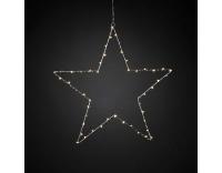 Konstsmide LED Stern Silber 50 LED