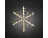 Konstsmide LED Schneeflocke 24 LED