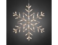 Konstsmide LED Schneeflocke 42 LED