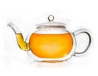 Creano Glas-Teekanne doppelwandig 1,2L