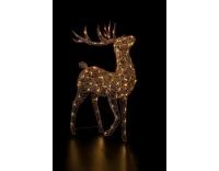 STT LED Rentier Finn 100cm, 80LED