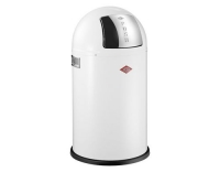 Wesco Abfalleimer Pushboy Junior 22l Weiss