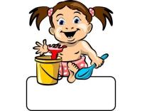 Geburtstafel Baby Girl Spielzeug