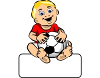 Geburtstafel Baby Boy Ball