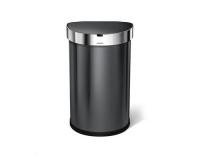 Simplehuman Sensorabfalleimer 45 Liter blac