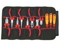 Knipex Werkzeug-Rolltasche 11-teilig