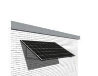 Solar-pac mini Solaranlage 310 W Fassade