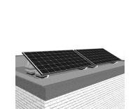 Solar-pac mini Solaranlage 620 W Flachdach