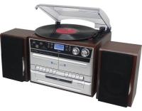 Soundmaster MCD5550DBR, Retro Plattenspiel.