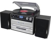 Soundmaster MCD5550SW, Retro Plattenspiel.