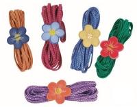 Sport Fit Blumen Hüpfgummi - Set 4