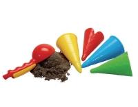GOWI Sandform Eiscreme Set 5 Stk.