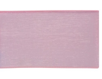 Glorex Organzaband 25 mm rosa