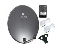 SAT-Set ASTRA/HOTBIRD Triax 100cm