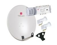 SAT-Set ASTRA/HOTBIRD Triax 88cm