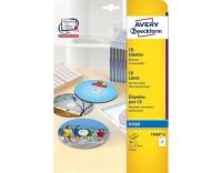 Avery Zweckform CD-Etiketten SuperSize glos