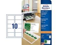 Avery Zweckform Visitenkarten Click & Clean