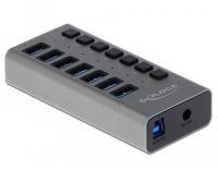 Delock externer USB 3.0 Hub 7-Ports