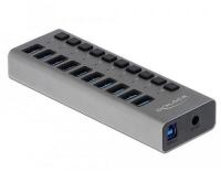 Delock externer USB 3.0 Hub 10-Ports