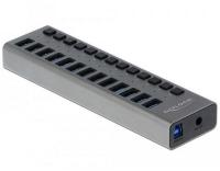 Delock externer USB 3.0 Hub 13-Ports