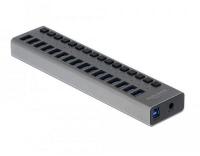 Delock externer USB 3.0 Hub 16-Ports