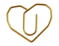 Creativ Company Büroklammer Gold