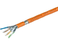 Wirewin Verlegekabel: S/FTP, 500m, orange