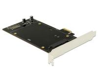 DeLock 2x SATA PCI-Ex1 Kontroller