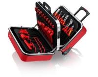 KNIPEX Werkzeugkoffer BIG Twin Move RED