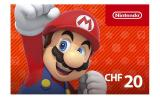 Nintendo eShop Card 20 CHF