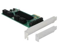 Delock 8x SATA PCI-Ex1 Karte