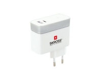 SKROSS Euro USB Charger Typ C, 2 Output