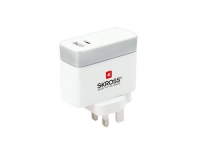 SKROSS UK USB Charger Typ C, 2 Output