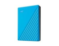 My Passport, 2.5 USB 4TB, Blau