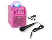 Vonyx SBS50P Party Speaker pink