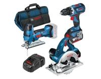 Bosch Professional Maschinen Set 3-teilig